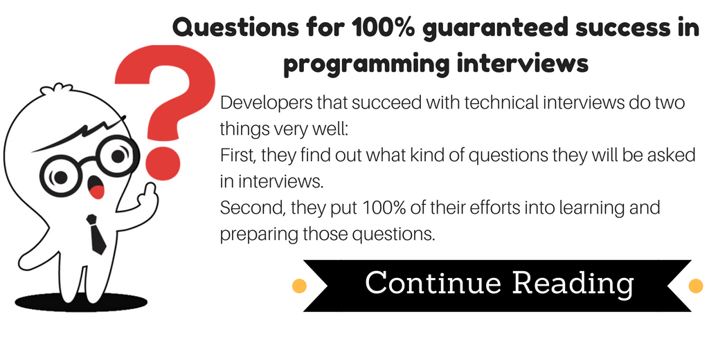 interview questions for success