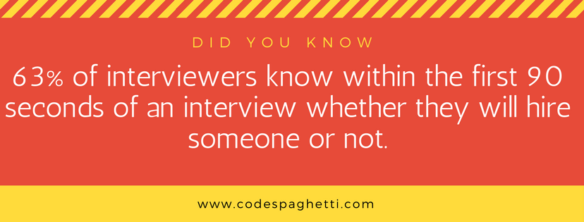 Technical interview facts and statistics