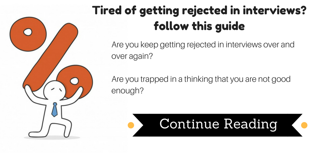 how to avoid rejection in interview