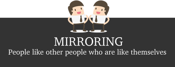 Mirroring technique in interviews